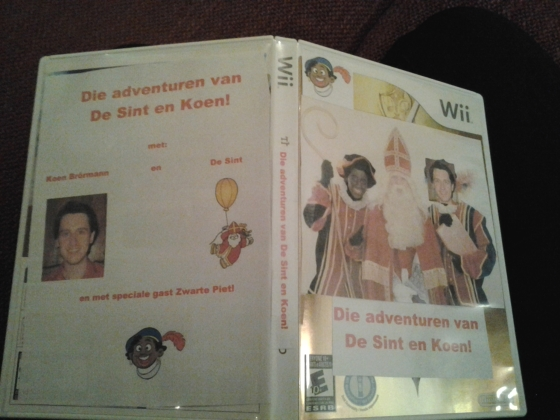 Special Sinterklaas game for the Wii!