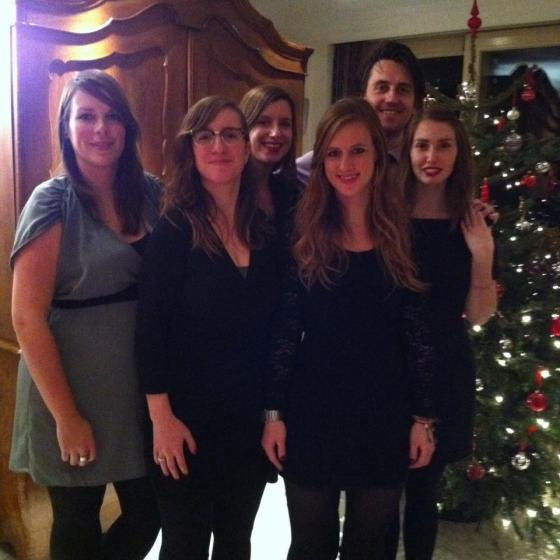 This is us last year, Christmas 2012!