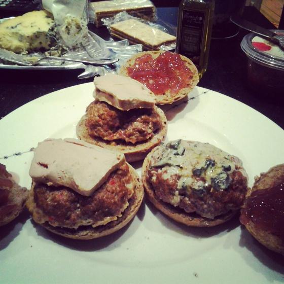 Decadent Mini-Burgers