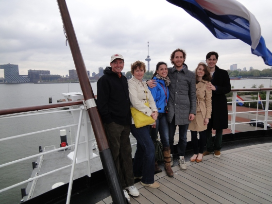 Group photo on the SS Rotterdam!
