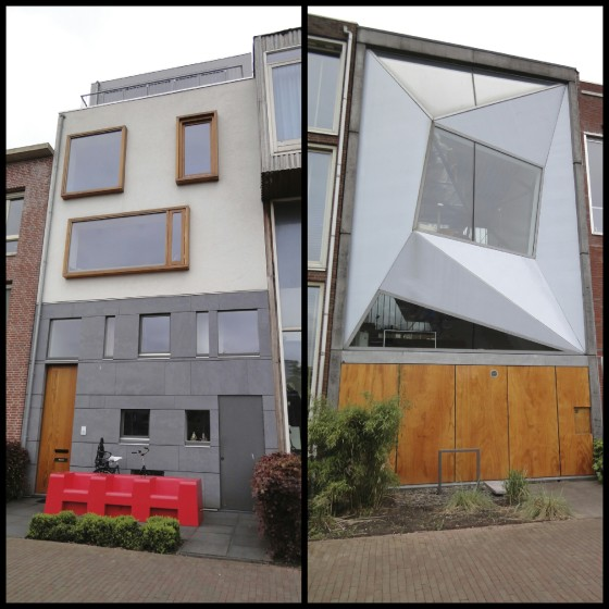 Cool houses in Rotterdam