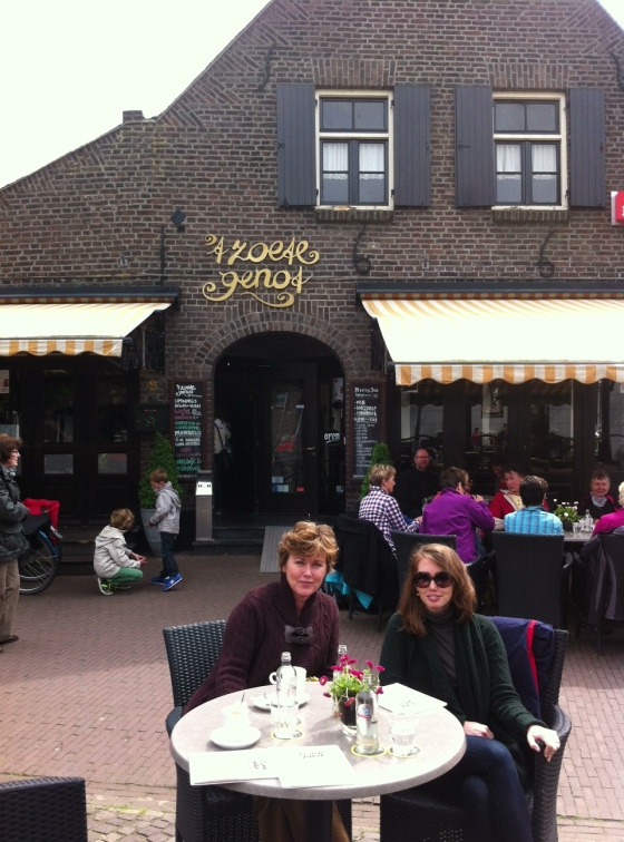 Mom and me at 't Zoete Genot