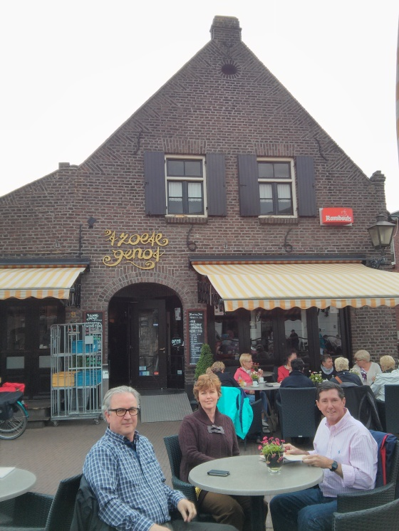 Before visiting the brewery, lunch at 't Zoete Genot