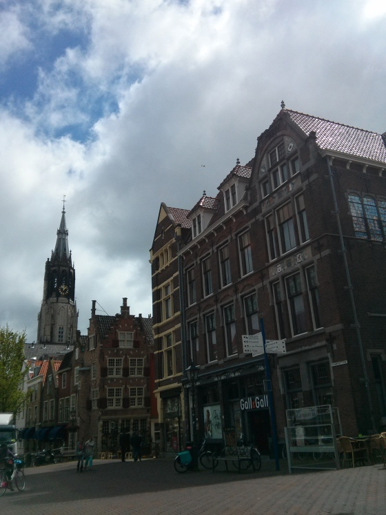 City Center, with the Nieuwe Kerk (New Church) in view