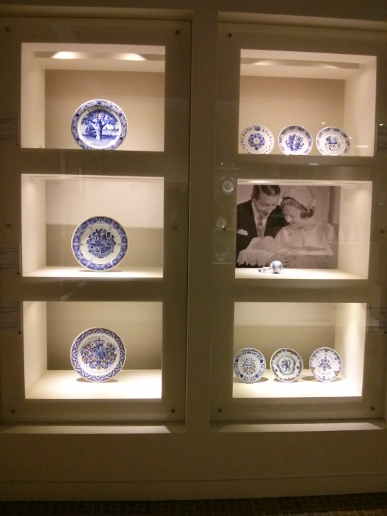 Delftware royal birth commemorations