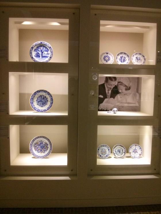 Delftware royal birth commemorations