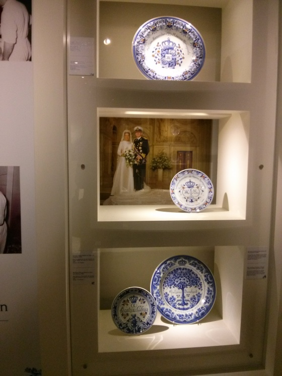 Dutch Royal Wedding Delftware