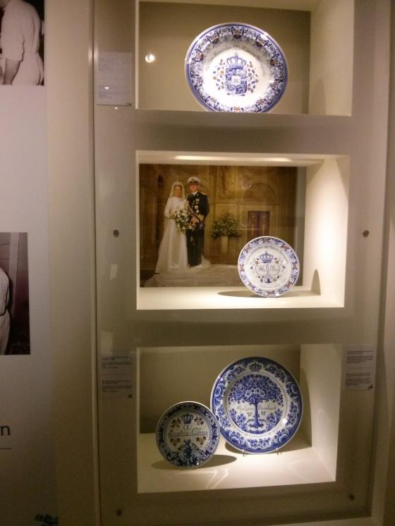 Dutch Royal Wedding Delftware