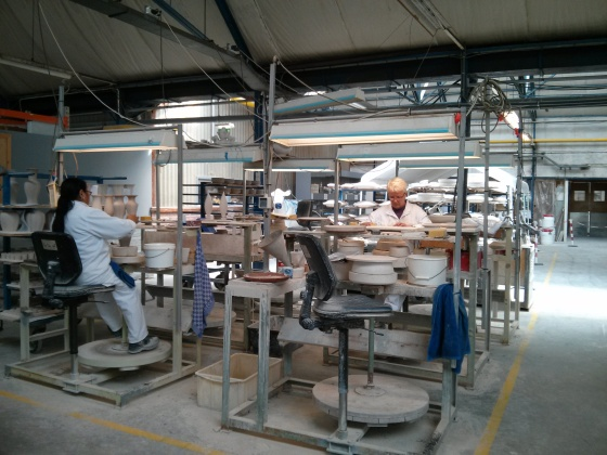 Inside the Royal Delft factory