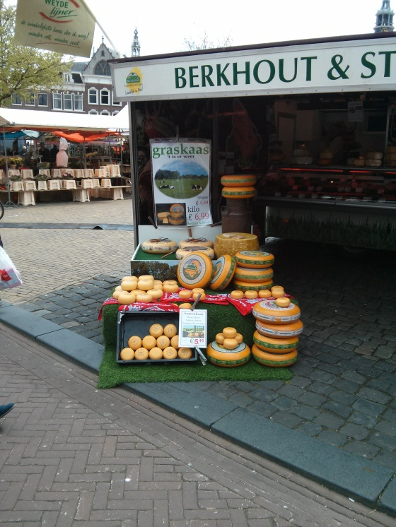 Gouda cheese for sale in Gouda!
