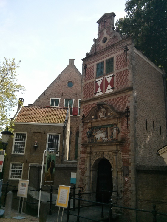 Entrance to the Museum Gouda