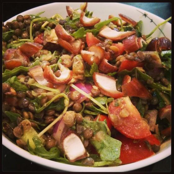 The Best Lentil Salad, Ever