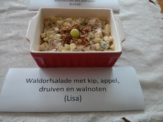 My waldorf chicken salad