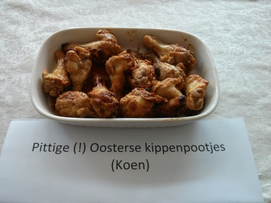 Koen's spicy Easternstyle chicken legs