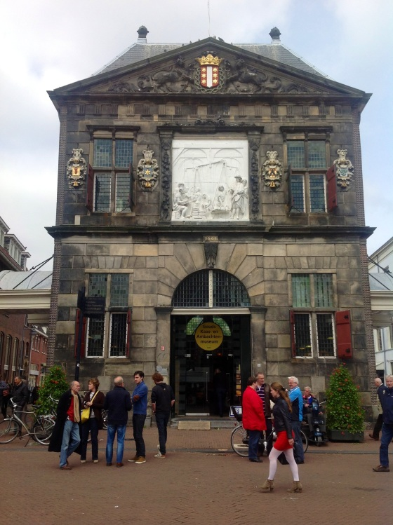 The Waag (built in 1667), or Weigh House - used to witches and cheese