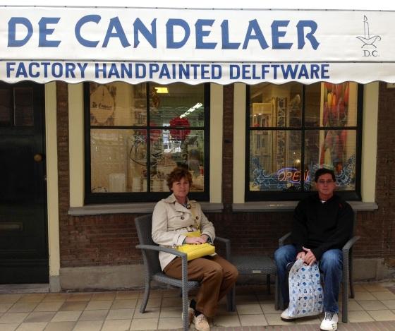 De Candelaer, a small earthenware factory in the city center