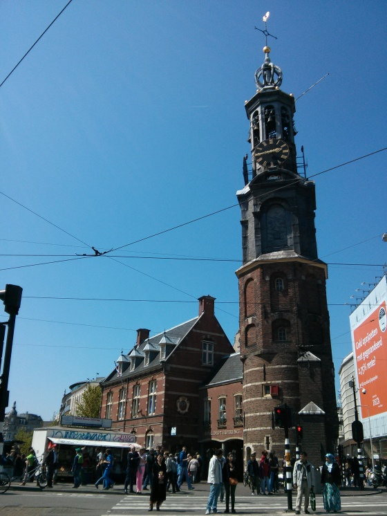 Munttoren in the Muntplein