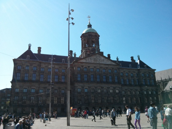Dam Square, Royal Palace