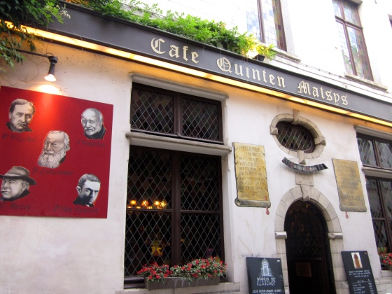 Cafe Quinten Matsijs, the oldest cafe in Belgium and the Netherlands