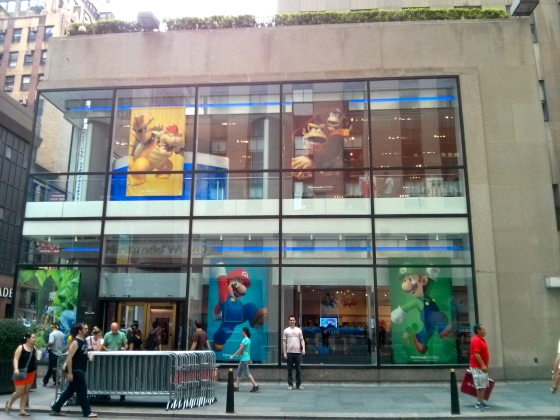 Nintendo World at Rockefeller Plaza!