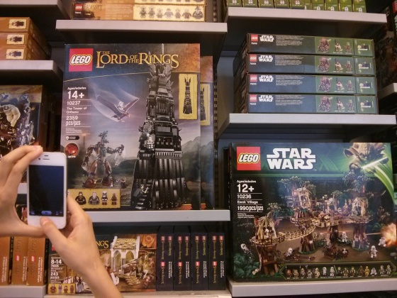 Lego Lord of the Rings and Star Wars!