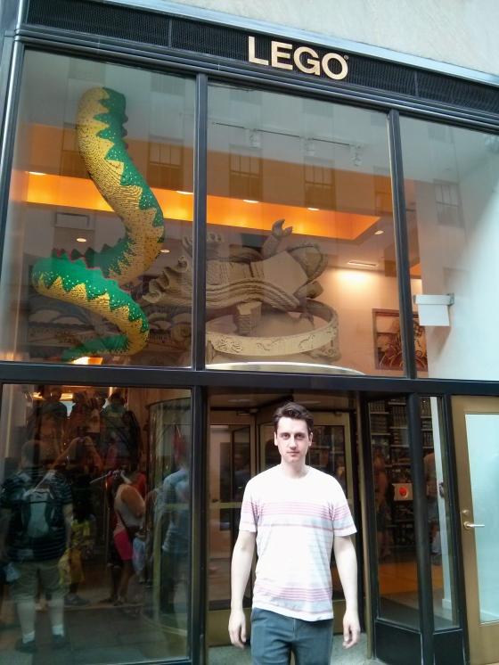 Lego Store at Rockefeller Plaza!