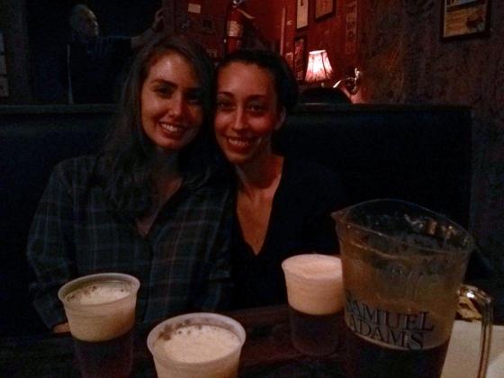 With Christina!