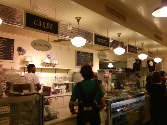 Inside Magnolia Bakery