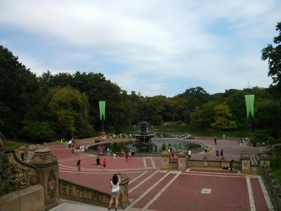 Bethesda Fountain and Terrace in Central Park