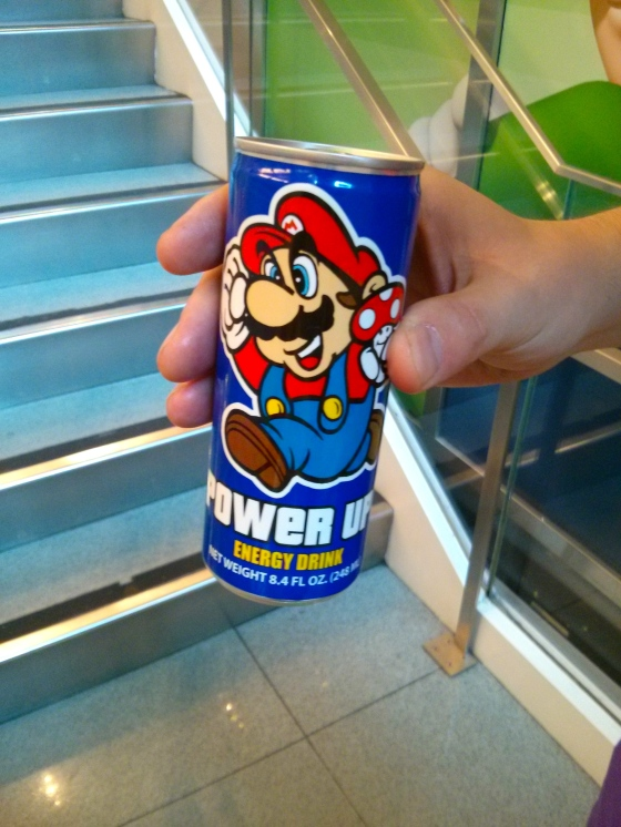 Nintendo World! Power Up Energy Drink!