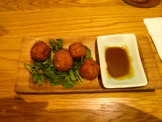My delicious pork and okara croquettes