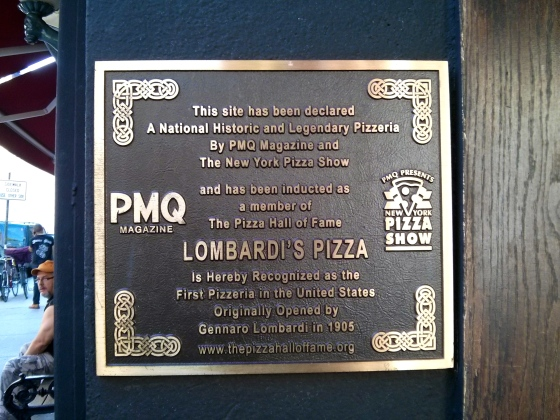 First pizzeria in the United States