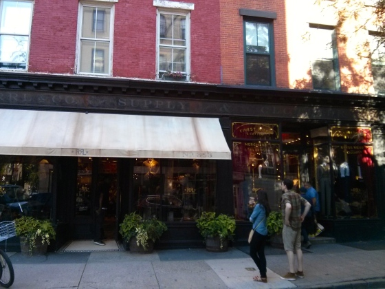 We passed another RRL in Greenwich Village