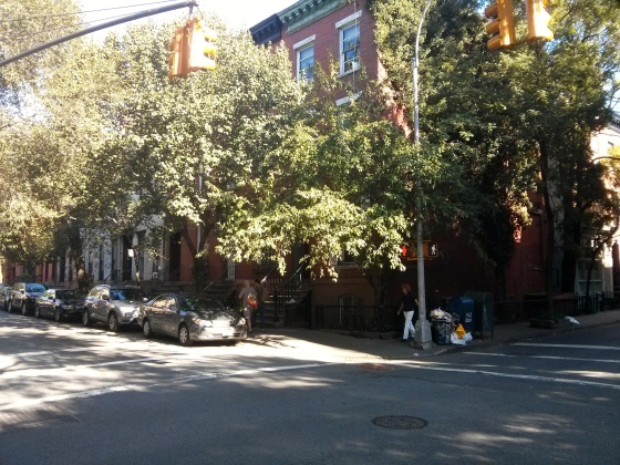 Greenwich Village reminded us a lot of Savannah