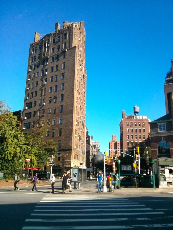 Intersection in Greenwich Village