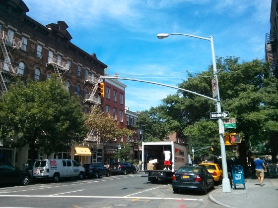 A street in Greenwich Village