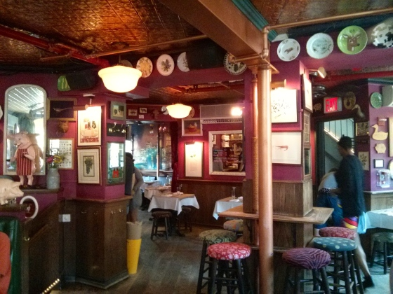 Inside the Spotted Pig