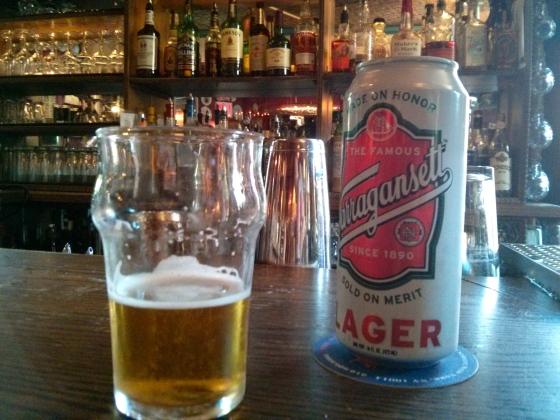 Koen's Narragansett beer