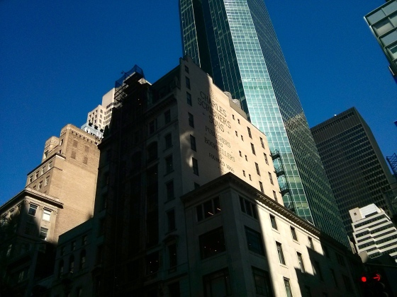 Back in Midtown - Charles Scribner's Sons Building on 5th Avenue