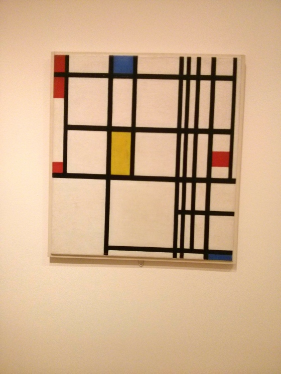 Composition in Red, Blue, and Yellow, Piet Mondrian, 1937-42