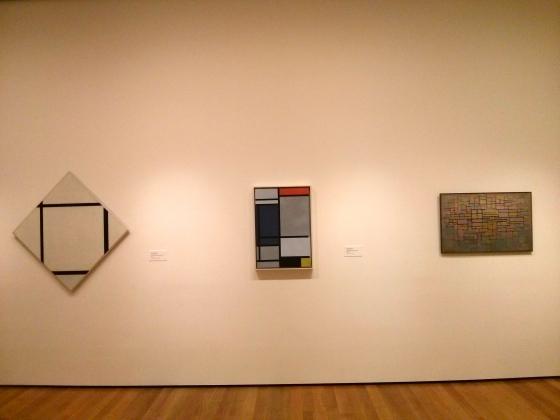 Wall of Mondrians