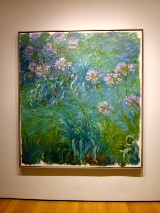Agapanthus, Claude Monet, 1914-26