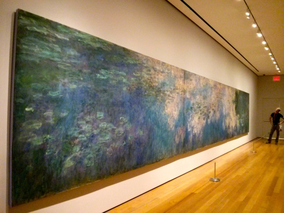 Water Lilies, Claude Monet, 1914-26