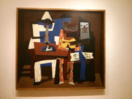 Three Musicians, Pablo Picasso, 1921