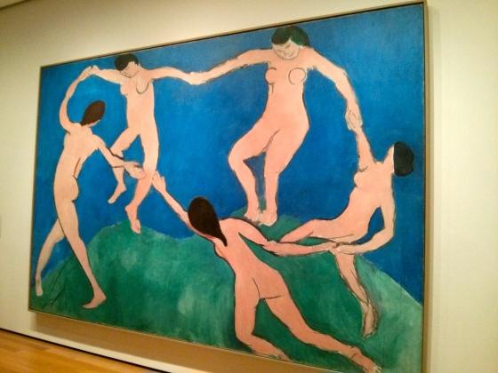 Dance (I), Henri Matisse, 1909