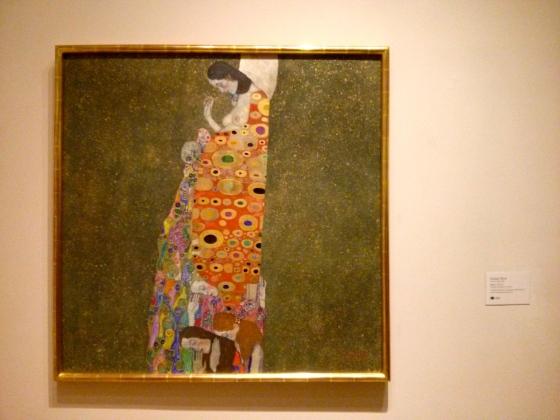 Hope, II, Gustav Klimt, 1907-08