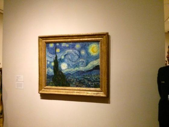 The Starry Night, Vincent van Gogh, 1889