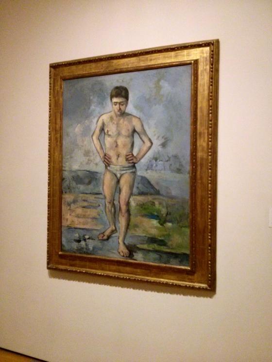 The Bather, Paul Cézanne, 1885