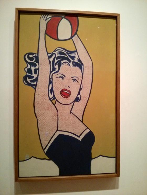 Girl with Ball, Roy Lichtenstein, 1961