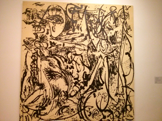 Echo: Number 25, 1951, Jackson Pollock, 1951